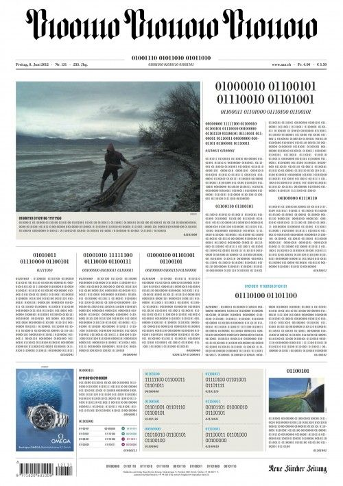NZZ-2012-06-08-with-Frontpage-in-Binary-Code