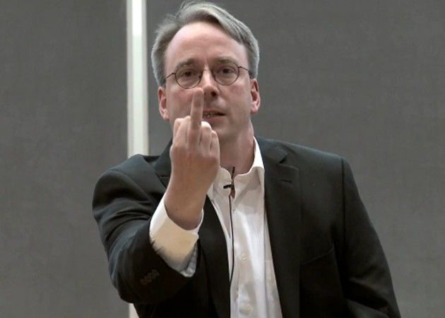 Linus Torvalds: NVIDIA ¡Fuck You! 32