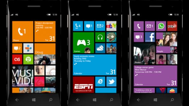 Windows Phone 8 terminales