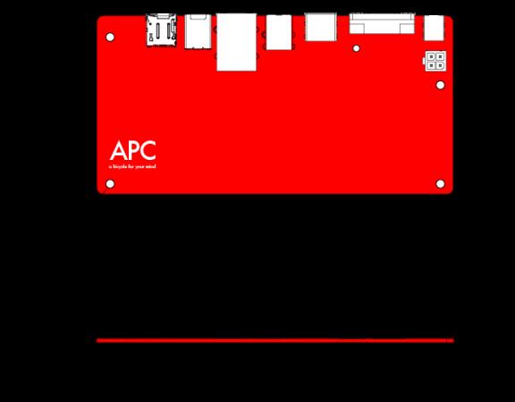 VIA APC, micro PC Android por 49 dólares 30