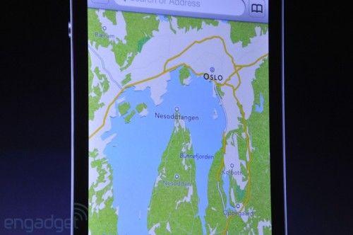 Nuevos mapas 3D en iPhone / iPad, golpe de efecto a Google Maps 30