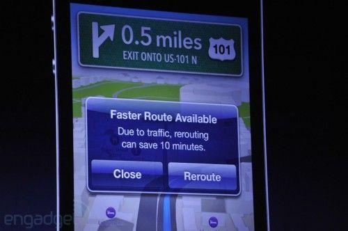 Nuevos mapas 3D en iPhone / iPad, golpe de efecto a Google Maps 31