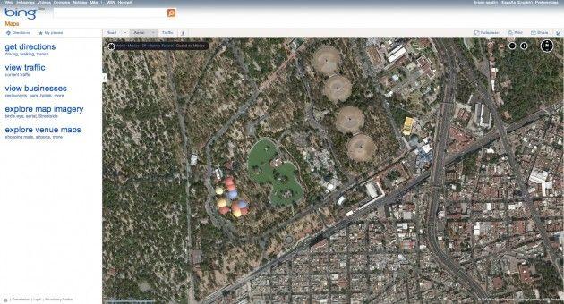 Bing Maps actualiza sus mapas con imágenes de alta resolución 27