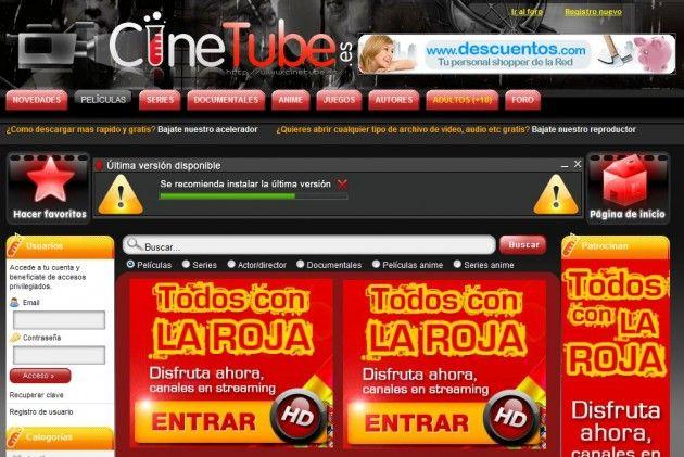 Cinetube elimina las descargas, nueva víctima de la Ley Sinde 30