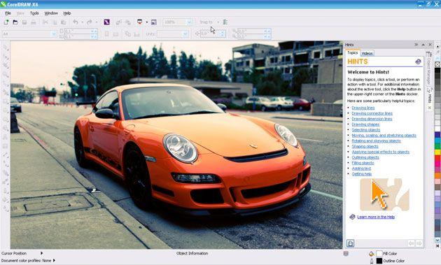 CorelDRAW Graphics Suite X6 28