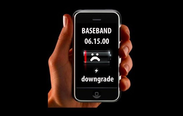 Downgrade de baseband 06.15 disponible para iPhone 3G / 3GS