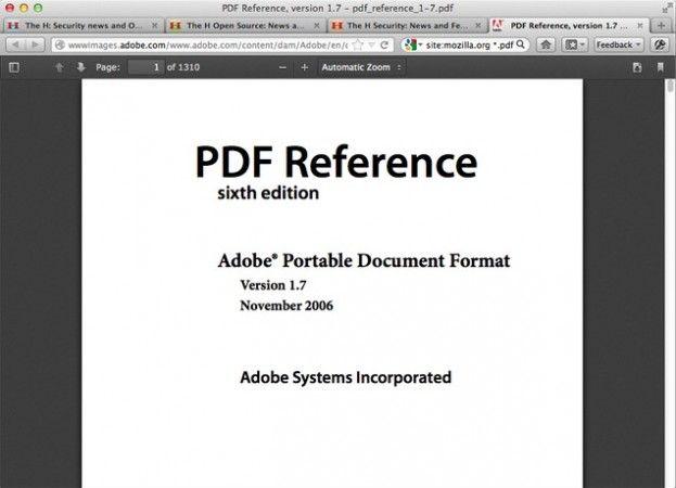 Firefox 15 Aurora ya previsualiza PDFs 28