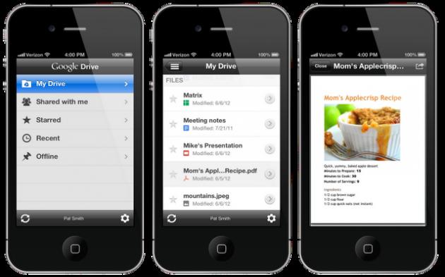 Google Drive llega a iOS 28