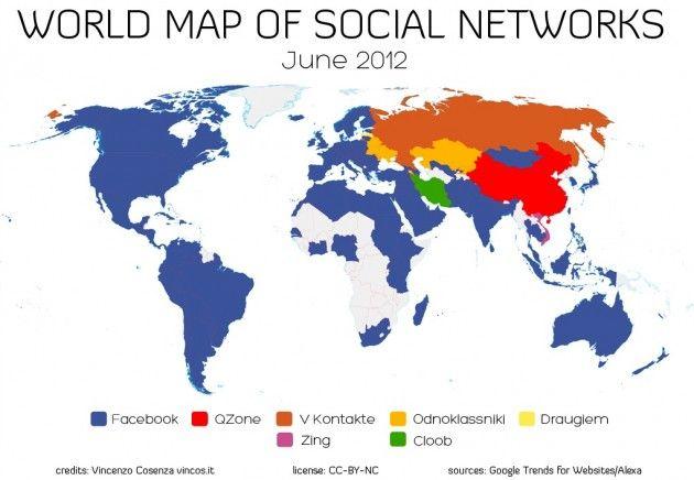 Facebook conquista el mundo (Rusia y China aún resisten) 30