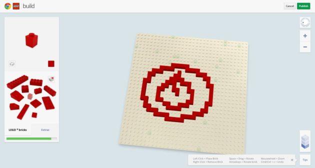 Simulador 3D de Lego en Chrome vía WebGL 30
