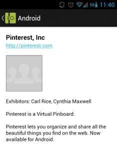 Pinterest verá la luz en Android en Google I/O 2012 28