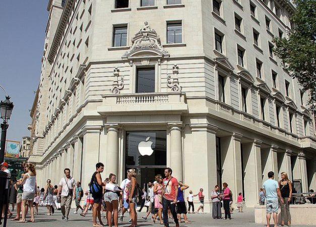 Inauguración de Apple Store de Passeig de Gràcia en Barcelona