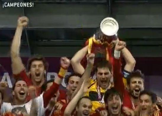 España vs Italia, final de la Eurocopa 2012 en directo vía streaming vídeo 32
