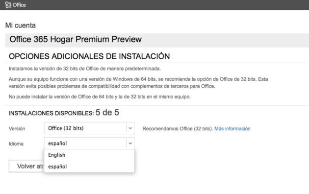 Office 365 Home Premium Preview 30
