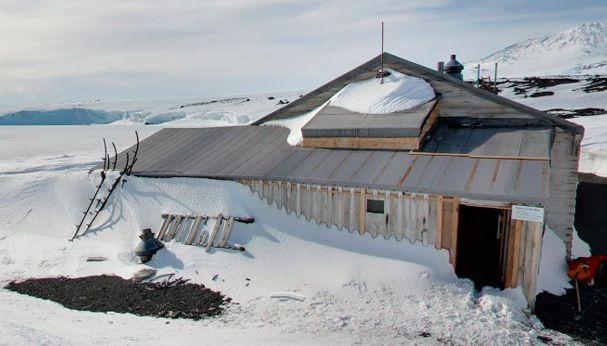 Antártida en Street View