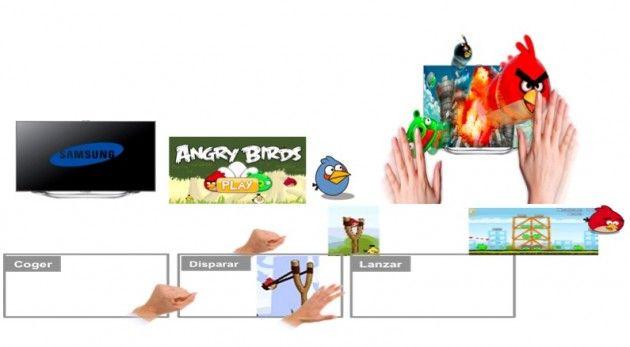 Angry Birds en Smart TV Samsung