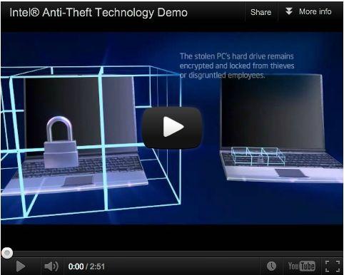 ¿Cómo funciona Intel Anti-Theft?