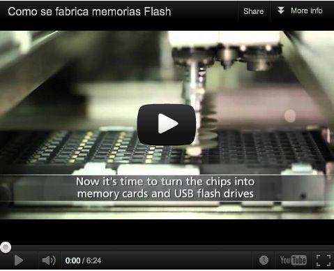 Cómo se fabrica la memoria Flash
