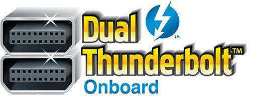GIGABYTE presenta las primeras placas con doble puerto Thunderbolt