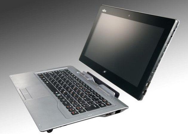 Fujitsu StylisticQ702 Fujitsu Stylistic Q702, tablet híbrido para Windows 8