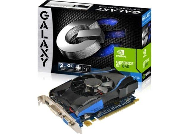 Galaxy anuncia gráfica GT 640 overclockeada para presupuestos ajustados 32