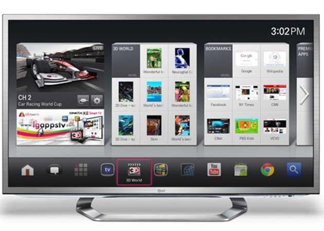 ¿Sucumbirán las consolas de videojuegos a los televisores conectados?