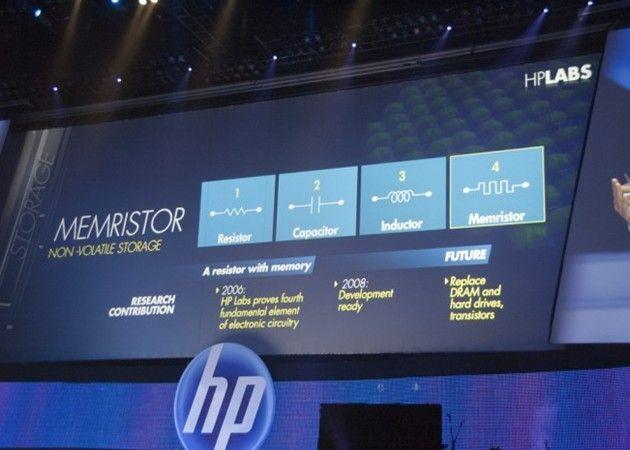 HP promete memristores comerciales en 2014