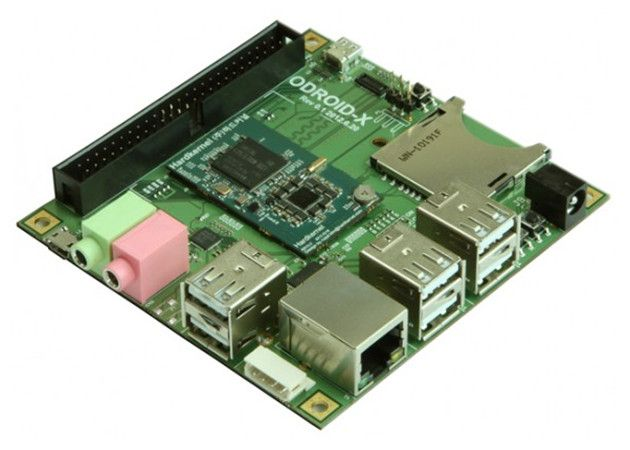 ODROID-X, mini-PC Linux con cuádruple núcleo ARM 28