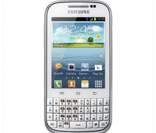 Galaxy Chat, una 'Blackberry' básica con diseño coreano y Android 31