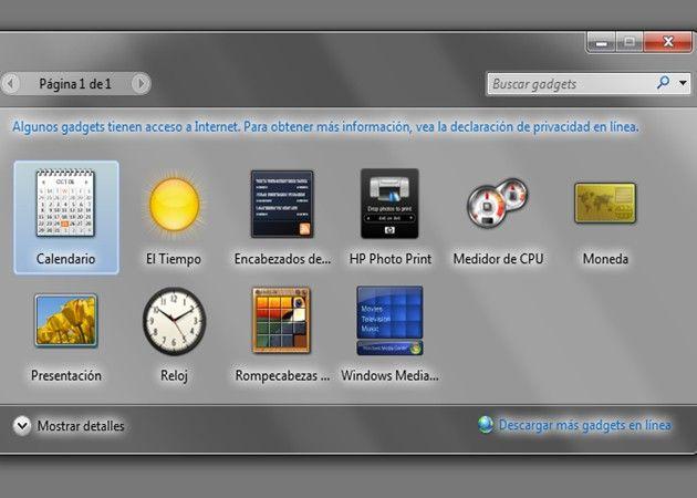 Microsoft: Windows Gadgets y Sidebar son un grave riesgo de seguridad 28