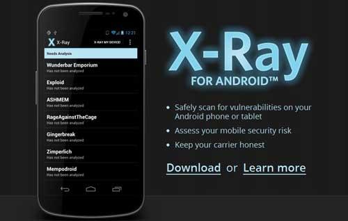 X-Ray, escáner de vulnerabilidades para tu dispositivo Android