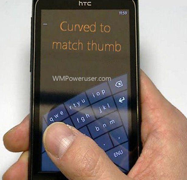 El teclado por soft Arc de Microsoft podría llegar a Windows Phone 8 29
