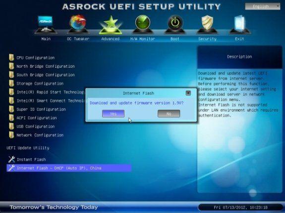 ASRock muestra nueva UEFI para sus placas que se autoactualiza 28