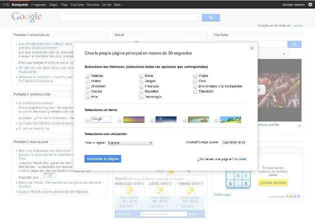 iGoogle dejará de existir en noviembre de 2013