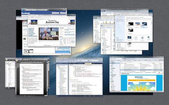 Consigue experiencia Exposé de Mac sobre Windows 7 fácil y gratuitamente 28