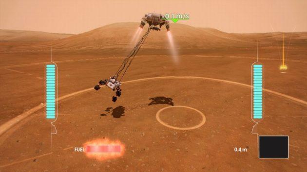 NASA y Microsoft lanzan juego para Xbox 360: Mars Rover Landing 42