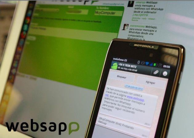 Envía mensajes WhatsApp desde tu navegador con Websapp 32