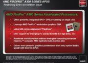 AMD lanza su APU profesional AMD FirePro 40