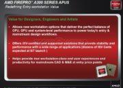 AMD lanza su APU profesional AMD FirePro 42