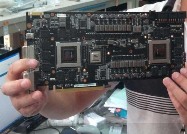 PCB de la ASUS Mars III, la base de este monstruo gráfico GTX 690 37