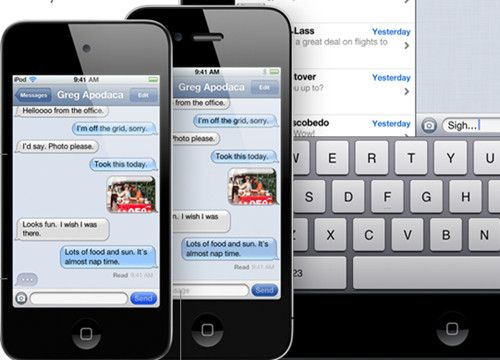 SMS vulnerable en iPhone, utiliza iMessages 35