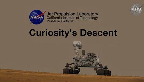 Descenso curiosity