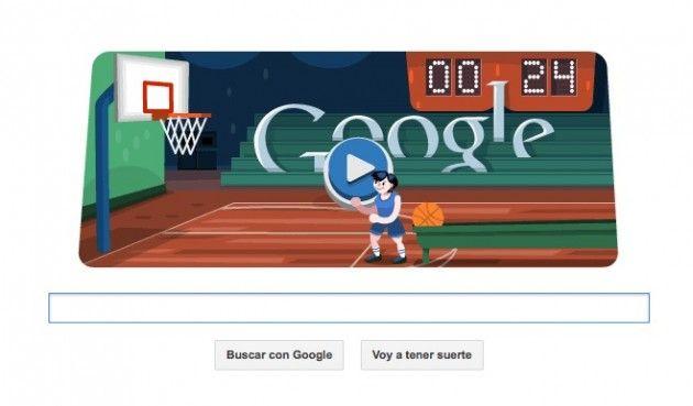 basketball 2012 doodle olimpico interactivo