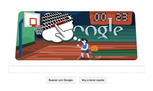 Doodle olímpico interactivo: baloncesto 32