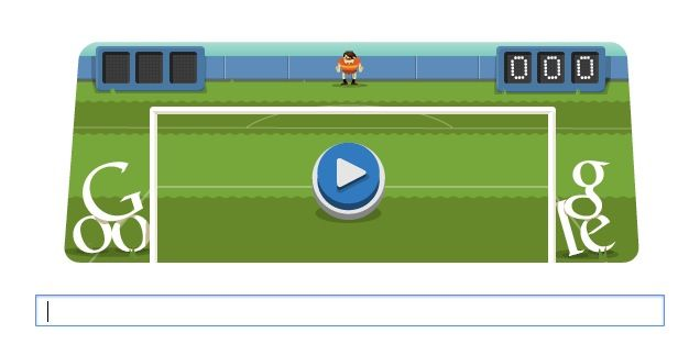 Doodle fútbol olímpico