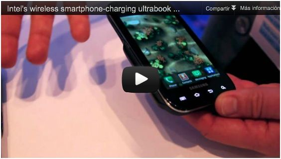 Intel's wireless smartphone-charging ultrabook