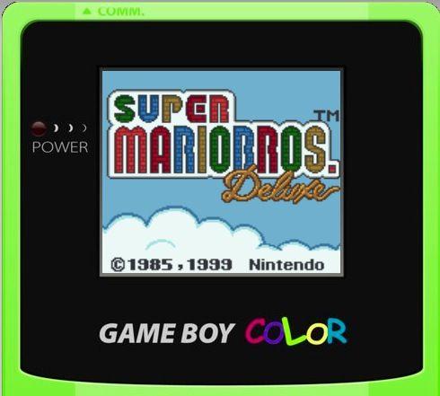Emulador de Gameboy Color en HTML5 / JavaScript a través del navegador 30