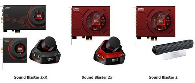 Creative presenta nuevas tarjetas de audio Sound Blaster serie Z 30