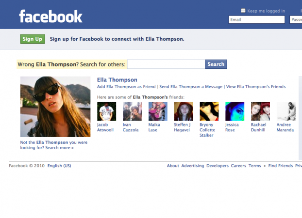 FAke Facebook