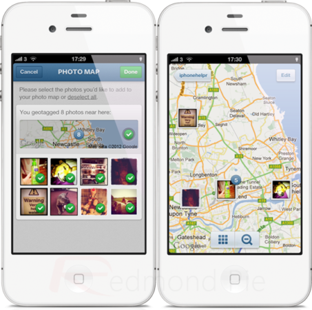 Instagram 3.0: posicionamiento de fotos en el mapa, renovada UI y mucho más 30